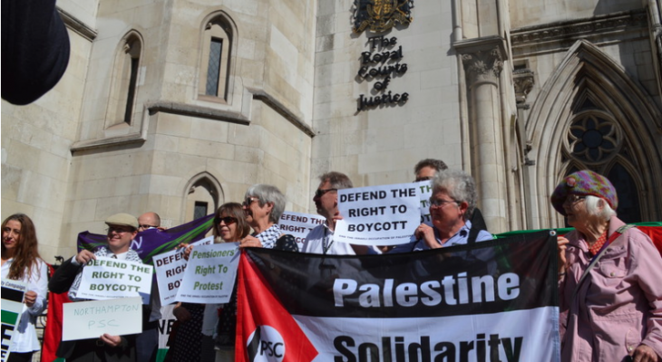 Israel boycott restrictions thrown out by UK's High Court