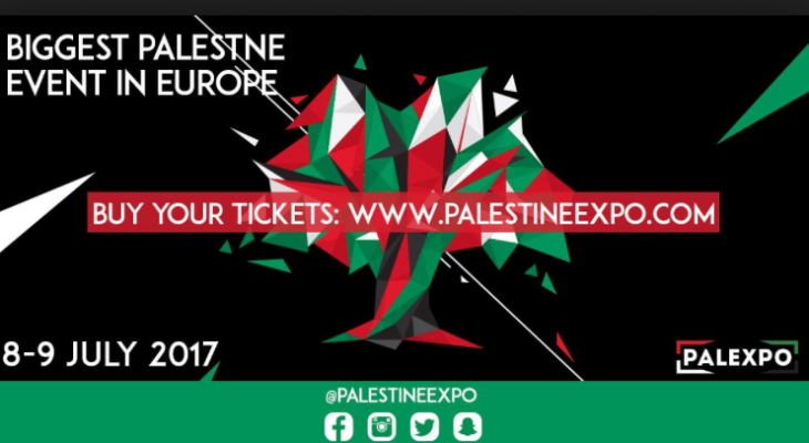 Palestine Expo taking place this weekend to be the biggest event of its kind in Europe