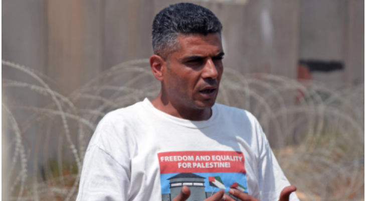 CARDIFF EVENT: Talk: Iyad Burnat in Cardiff