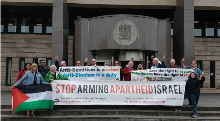 Opposing Zionism is not racism, rules Scottish court