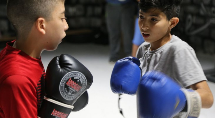 Young boxers join forces to create Palestinian-Danish partnership