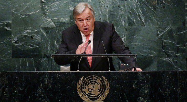 UN chief Guterres to visit Israel, Palestine