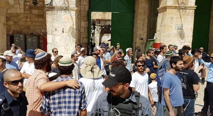 Settlers storm Al-Aqsa