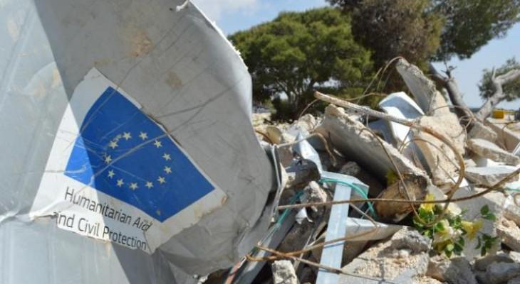 Israel demolishes EU-funded homes in Masafer Yatta