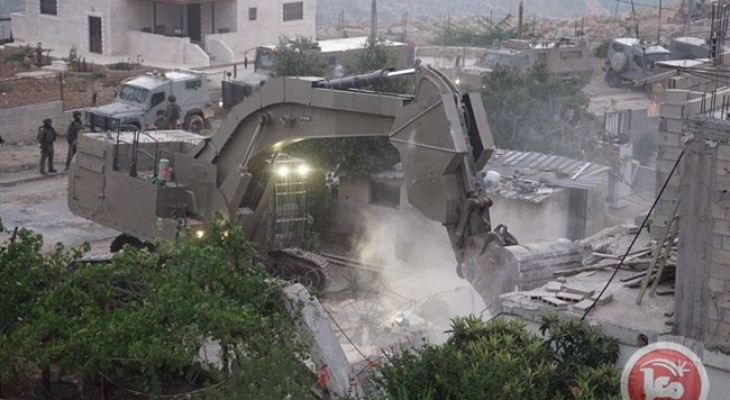 Israel uses Caterpillar equipment in revenge demolition