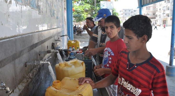 Power shortage threatens water services in Gaza