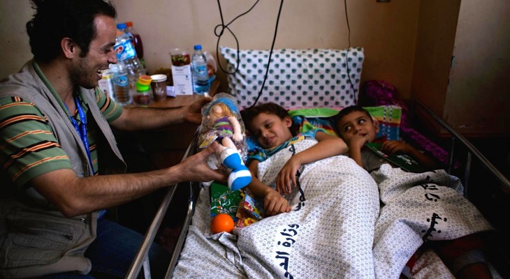 "Video: Gaza hospitals warn of ""catastrophe"""
