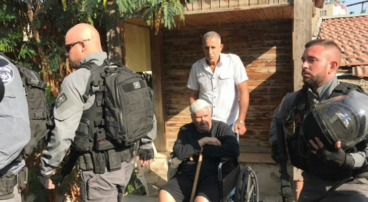 Palestinian family evicted from Jerusalem home of 50 years