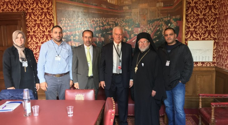 Palestinian delegation warns of the legalisation of the racial system in Israel and calls for the support of the Palestinian rights