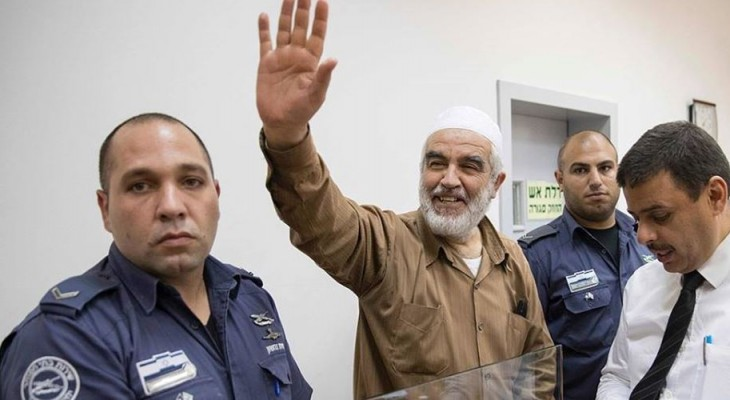 Raed Salah: Israeli jailers tying up my hands and feet