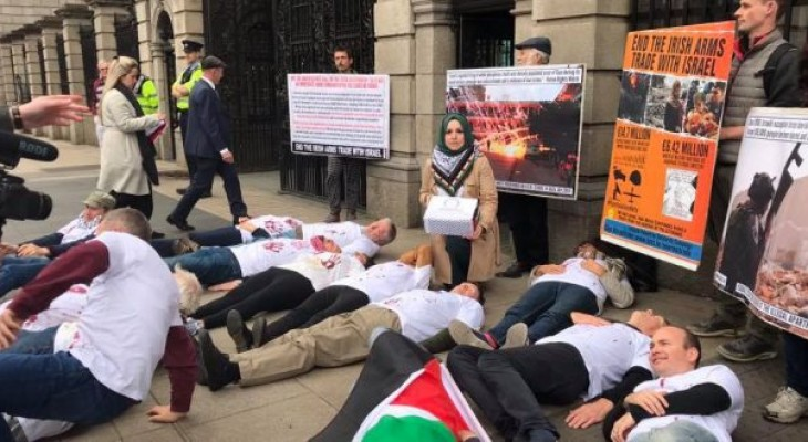 Over 23,000 people call for an end to the Irish arms trade with Israel
