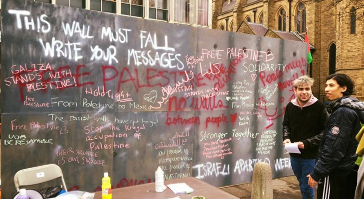 Israeli Embassy Balfour celebration at British university condemned by students