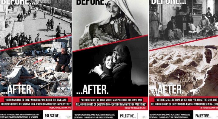 TfL bans ads displaying Palestinian objections to Balfour declaration