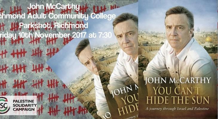 Talk: John McCarthy – You Can't Hide the Sun