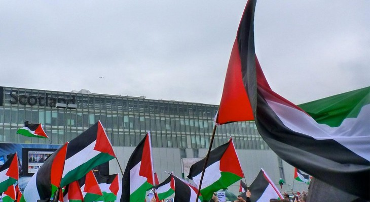 Scottish police thwarted Palestinian activists' right to protest in peace