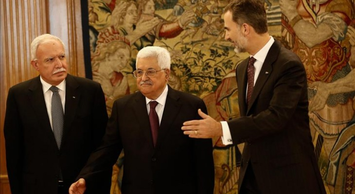 President Abbas urges Spain to recognize Palestine