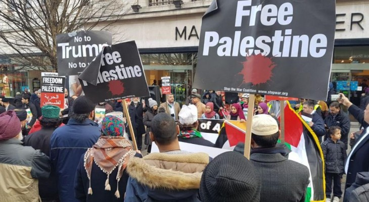 Jerusalem solidarity protests continue in UK cities