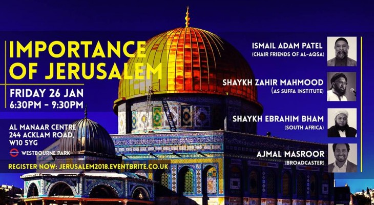 Event: Importance of Jerusalem