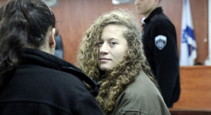 Ahed Tamimi faces months in Israeli prison before trial for slap