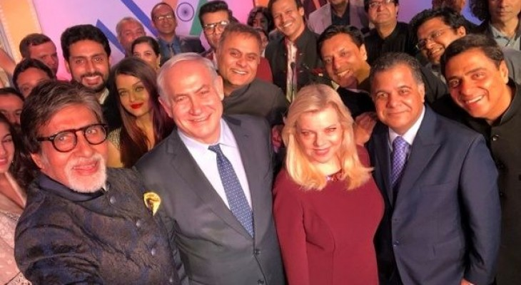 Bollywood actors slammed for embracing Israel
