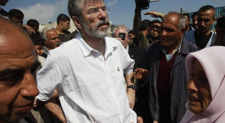 Gerry Adams call for Irish government to expel Israeli ambassador commended