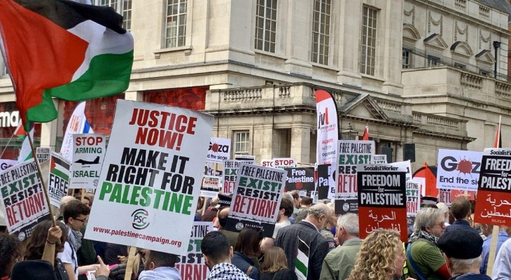 Palestine and anti-Semitism workshop held in UK