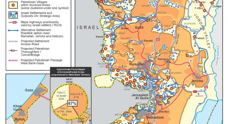 Explainer: 5 Things to Know About the Trump-Netanyahu Apartheid Map
