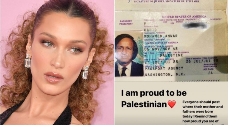 Bella Hadid calls out Instagram for censoring Palestine post