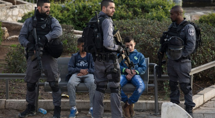 Israeli interrogator sexually assaults Palestinian child detainee