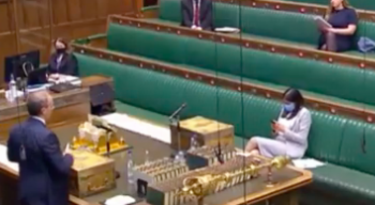 UK Government pressed on Palestine, Syria and Yemen by MPs at Foreign Affairs Questions
