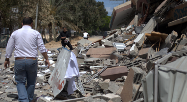 Report: $570 Million Physical, Economical Losses in Gaza