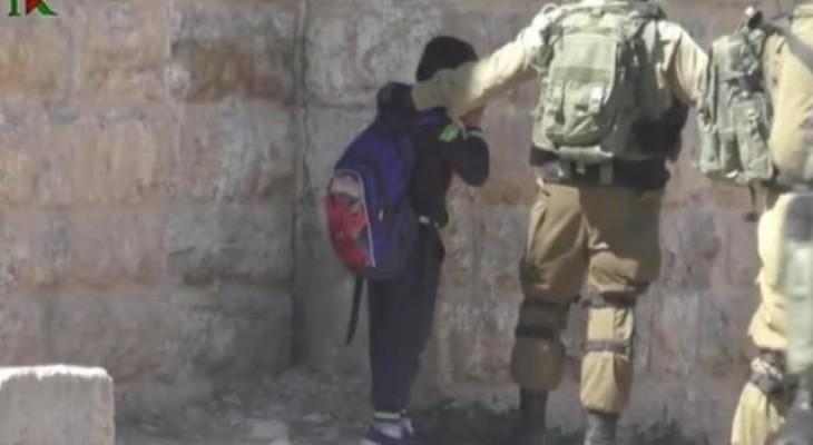 Israeli forces kidnap four school students east of Bethlehem