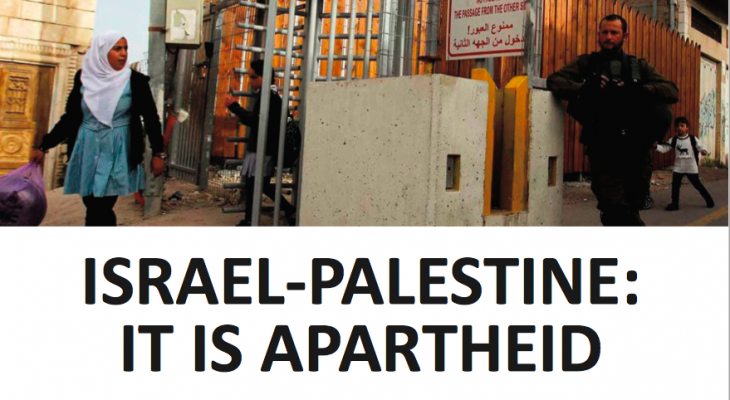 ISRAEL-PALESTINE: IT IS APARTHEID. THE EU AND ITS MEMBER STATES MUST ACKNOWLEDGE THIS FACT AND COMPLY WITH THEIR RESPONSIBILITIES