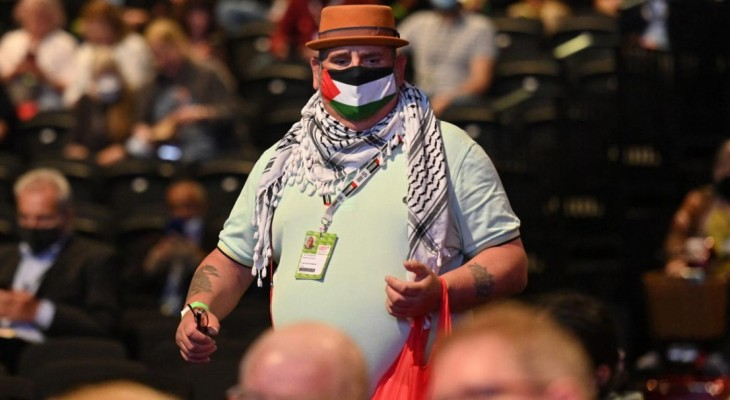 Labour conference votes to back sanctions against Israel over 'crime of apartheid'